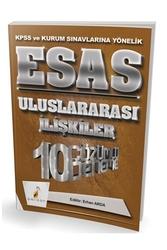 Pelikan Yayıncılık - Pelikan Yayıncılık 2018 KPSS ve Kurum Sınavlarına Yönelik ESAS Uluslararası İlişkiler 10 Çözümlü Deneme