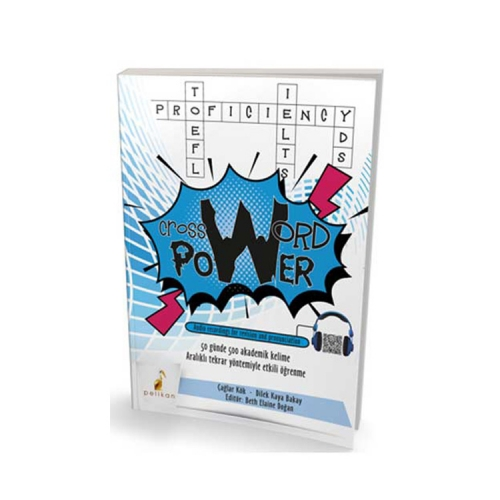 Pelikan Yayıncılık Crossword Power 50 Günde 500 Akademik Kelime