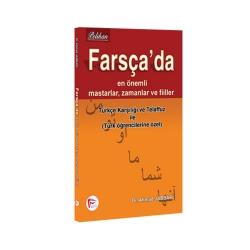 Pelikan Yayıncılık - Pelikan Yayıncılık Farsça'da En Önemli Mastarlar, Zamanlar ve Fiiler