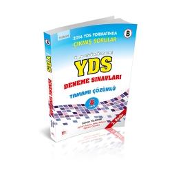 Pelikan Yayıncılık - Pelikan Yayıncılık İngilizce YDS Tamamı Çözümlü 8 Deneme Sınavları