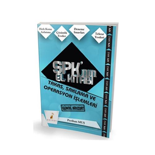 Pelikan Yayıncılık SPK´nın El Kitabı Takas, Saklama ve Operasyon İşlemleri