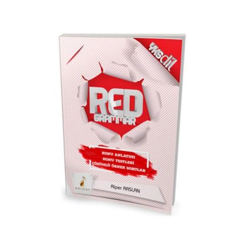 Pelikan Yayıncılık YKSDİL Red Grammer