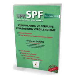 Pelikan Yayıncılık - Pelikan Yayınevi SPK - SPF Kurumlarda ve Sermaye Piyasasında Vergilendirme Konu Anlatımlı Soru Bankası 1013
