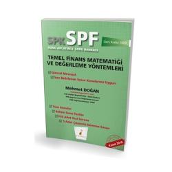 Pelikan Yayıncılık - Pelikan Yayınevi SPK - SPF Temel Finans Matematiği ve Değerleme Yöntemleri Konu Anlatımlı Soru Bankası 1009