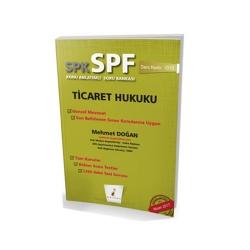 Pelikan Yayıncılık - Pelikan Yayınevi SPK - SPF Ticaret Hukuku Konu Anlatımlı Soru Bankası 1010