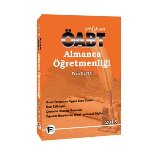 Pelikan Yayınları 2016 ÖABT Almanca Öğretmenliği Konu Anlatımlı