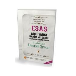 Pelikan Yayıncılık - Pelikan Yayıncılık ESAS Adli Yargı Hakim ve Savcı Adaylarını Seçme Sınavı 7 Çözümlü Deneme Sınavı