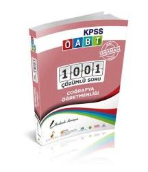 Pelikan Yayıncılık - Pelikan Yayınları KPSS ÖABT Coğrafya Öğretmenliği Alan Taraması Serisi 1001 Çözümlü Soru 2018