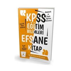 Pelikan Yayıncılık - Pelikan Yayınları 2019 KPSS Eğitim Bilimleri Efsane Tek Kitap Konu Anlatımlı