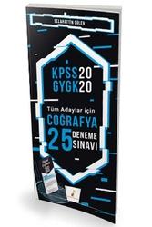 Pelikan Yayıncılık - Pelikan Yayınları 2020 KPSS Coğrafya Dijital Çözümlü 25 Deneme Sınavı