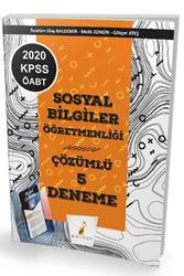 Pelikan Yayıncılık - Pelikan Yayınları 2020 ÖABT Sosyal Bilgiler Öğretmenliği Dijital Çözümlü 5 Deneme Sınavı