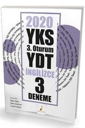 Pelikan Yayıncılık - Pelikan Yayınları 2020 YKS 3.Oturum YDT İngilizce 3 Deneme Sınavı