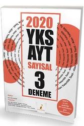 Pelikan Yayıncılık - Pelikan Yayınları 2020 YKS AYT Sayısal 3 Deneme Sınavı