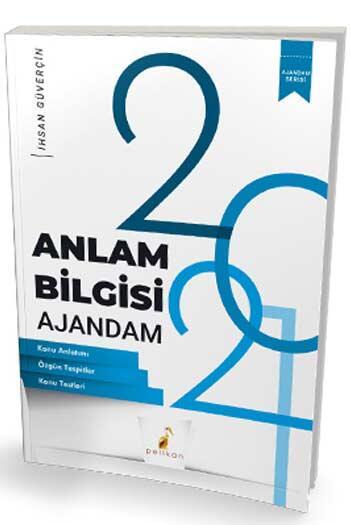 Pelikan Yayıncılık - Pelikan Yayınları 2021 TYT Anlam Bilgisi Ajandam