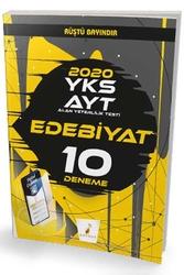 Pelikan Yayıncılık - Pelikan Yayınları AYT Edebiyat Dijital Çözümlü 10 Deneme Sınavı