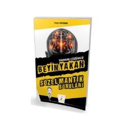 Pelikan Yayıncılık - Pelikan Yayınları Beyin Yakan Tamamı Çözümlü Sözel Mantık Soruları