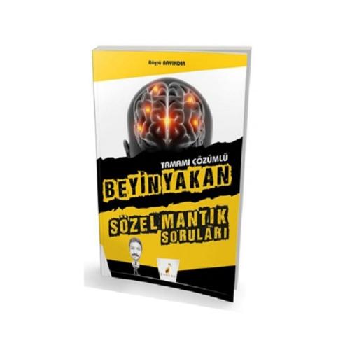 Pelikan Yayınları Beyin Yakan Tamamı Çözümlü Sözel Mantık Soruları