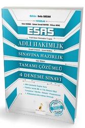 Pelikan Yayıncılık - Pelikan Yayınları Esas Adli Hakimlik Sınavına Hazırlık Tamamı Çözümlü 4 Deneme Sınavı