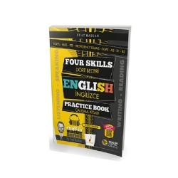 Pelikan Yayıncılık - Pelikan Yayınları Four Skills English Practice Book Dört Beceri İngilizce Çalışma Kitabı