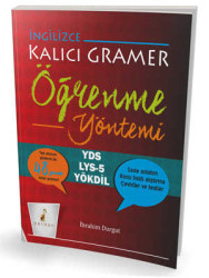 Pelikan Yayıncılık - Pelikan Yayınları İngilizce Kalıcı Gramer Öğrenme Yöntemi
