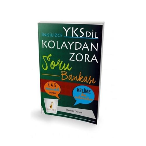 Pelikan Yayınları İngilizce YKS-Dil Kolaydan Zora Soru Bankası