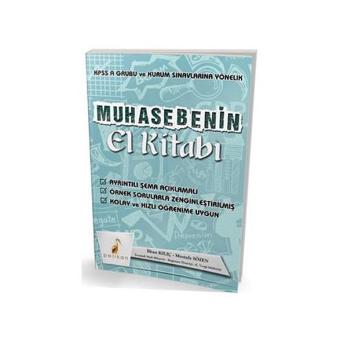 Pelikan Yayınları KPSS A ve Kurum Sınavlarına Yönelik Muhasebenin El Kitabı