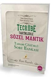 Pelikan Yayıncılık - Pelikan Yayınları KPSS Tecrübe Tüm Sınavlar İçin Sözel Mantık Tamamı Çözümlü Soru Bankası