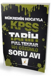 Pelikan Yayıncılık - Pelikan Yayınları Mükremin Hocayla KPSS Tarih Soru Avı 101 Çözümlü Soru
