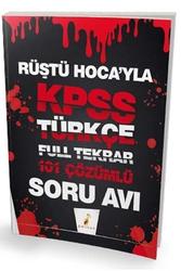 Pelikan Yayıncılık - Pelikan Yayınları Rüştü Hocayla KPSS Türkçe Soru Avı 101 Çözümlü Soru