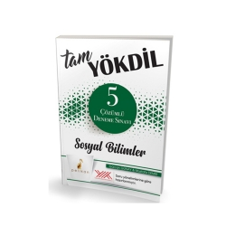 Pelikan Yayıncılık - Pelikan Yayınları Tam YÖKDİL Sosyal Bilimler 5 Çözümlü Deneme Sınavı