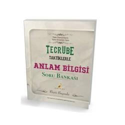 Pelikan Yayıncılık - Pelikan Yayınları Tecrübe Taktiklerle Anlam Bilgisi Soru Bankası
