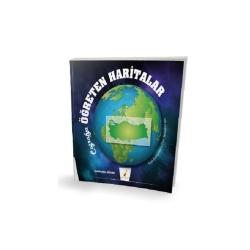Pelikan Yayıncılık - Pelikan Yayınları Tüm Zamanların Tüm Sınavları için Coğrafya Öğreten Haritalar