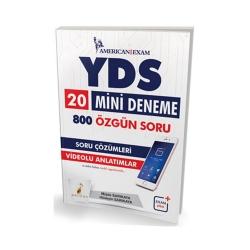 Pelikan Yayıncılık - Pelikan Yayınları YDS 20 Mini Deneme 800 Özgün Soru