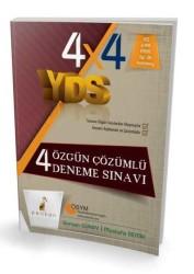 Pelikan Yayıncılık - Pelikan Yayınları YDS 4 Özgün Çözümlü Deneme Sınavı