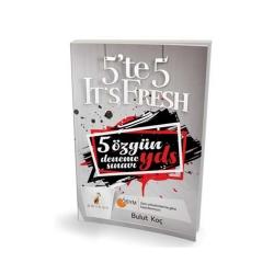 Pelikan Yayıncılık - Pelikan Yayınları YDS 5`te 5 It`s Fresh 5 Özgün Deneme Sınavı