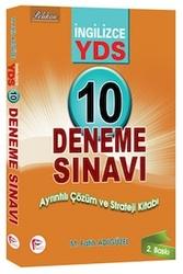 Pelikan Yayıncılık - Pelikan Yayınları YDS İngilizce 10 Deneme Sınavı Ayrıntılı Çözüm ve Strateji Kitabı