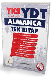Pelikan Yayıncılık - Pelikan Yayınları YKS YDT Almanca Tek Kitap