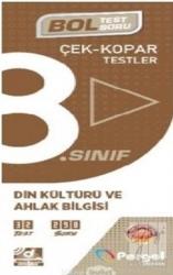 Pergel Yayınları - Pergel Yayınları 8. Sınıf Din Kültürü ve Ahlak Bilgisi Çek Kopar Testler