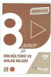 Pergel Yayınları - Pergel Yayınları 8. Sınıf Din Kültürü ve Ahlak Bilgisi Konu Kitabı