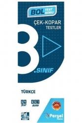 Pergel Yayınları - Pergel Yayınları 8. Sınıf Türkçe Çek Kopar Testler