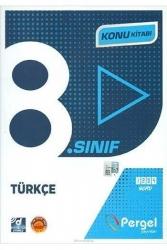 Pergel Yayınları - Pergel Yayınları 8. Sınıf Türkçe Konu Kitabı