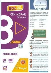 Pergel Yayınları - Pergel Yayınları 8.Sınıf Fen Bilimleri Çek Kopar Testler