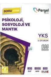 Pergel Yayınları - Pergel Yayınları AYT Psikoloji, Sosyoloji ve Mantık Soru Kitabı
