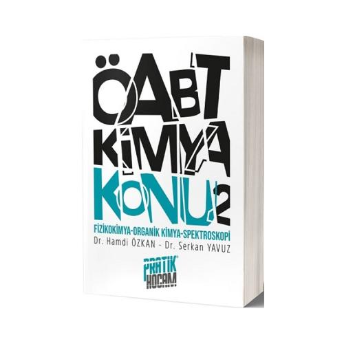 Pratik Hocam Yayınları ÖABT Orbital Kimya Konu Anlatım 2