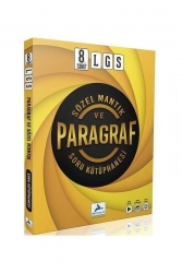 Prf Yayınları - PRF Yayınları LGS 8. Sınıf Sözel Mantık ve Paragraf Soru Kütüphanesi