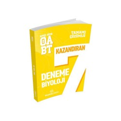 Puan Akademi Yayınları - Puan Akademi Yayınları 2018 ÖABT Biyoloji Öğretmenliği Tamamı Çözümlü 7 Deneme