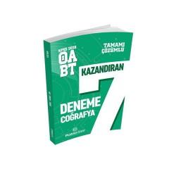 Puan Akademi Yayınları - Puan Akademi Yayınları 2018 ÖABT Coğrafya Öğretmenliği Tamamı Çözümlü 7 Deneme