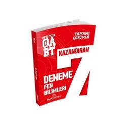 Puan Akademi Yayınları - Puan Akademi Yayınları 2018 ÖABT Fen Bilimleri Öğretmenliği Tamamı Çözümlü 7 Deneme