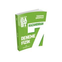 Puan Akademi Yayınları - Puan Akademi Yayınları 2018 ÖABT Fizik Öğretmenliği Tamamı Çözümlü 7 Deneme