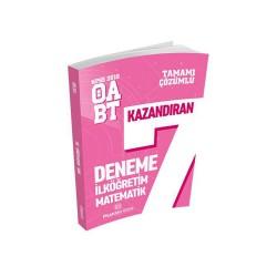 Puan Akademi Yayınları - Puan Akademi Yayınları 2018 ÖABT İlköğretim Matematik Öğretmenliği Tamamı Çözümlü 7 Deneme